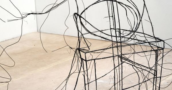 3d wire sculptures by fritz panzer inspirations for Sessel 3d dwg
