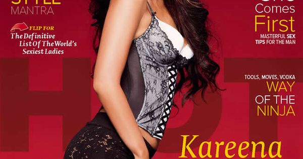 Bollywood Actresses In Maxim: HOTTEST Woman On Earth: Kareena Kapoor Spices Up MAXIM