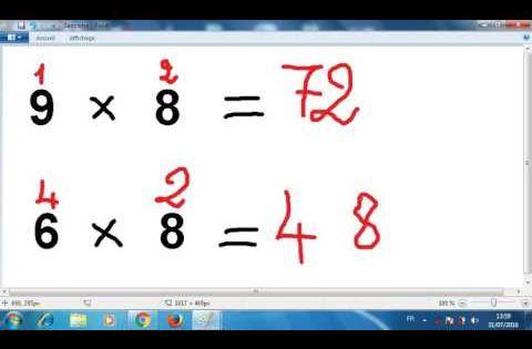 Technique Magique Pour Les Tables De Multiplication Cool Math Games Youtube Teaching Sight Words Math For Kids Math Tricks