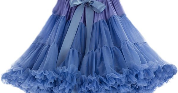 Soft Tulle Bluebell Purple PetticoatPerfect As A Bridal Petticoat Bridesmaid Petticoat For