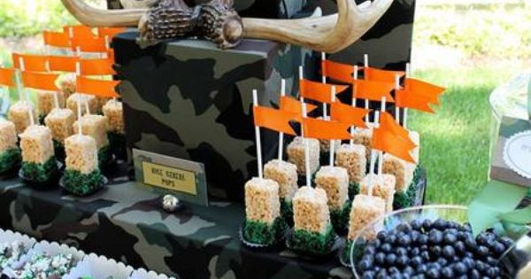 Hunting Celebration of Life Memorial Party Ideas | Photo 12 of 18