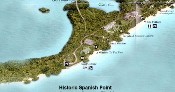 Historic Spanish Point Directions Information Map Perfect