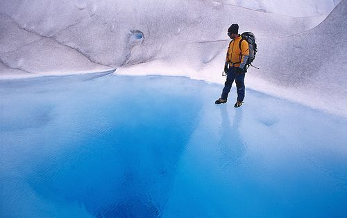 Glacier Grey, Chile by Dietmar Temps via Flickr - Photo Sharing! Magical!