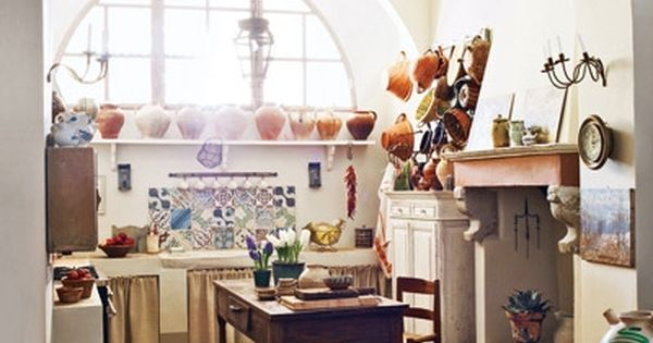 Beautiful Italian Kitchen. - definetely dream kitchen!