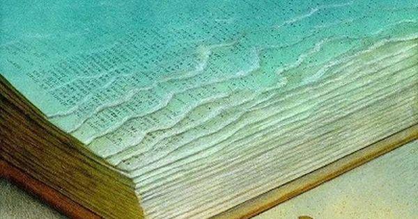 Lire, c'est plonger et nager dans l'imaginaire. / Ocean of Imagination. /