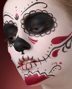 Dia De Los Muertos Mexikanische Totenmaske Mexikanische