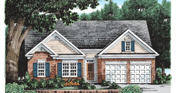Cottage house plan with 1232 square feet and 3 bedrooms for Maison eplans