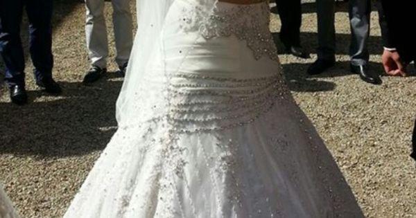 Robe de mariée tunisienne avec jupon et voile doccasion à Paris ...
