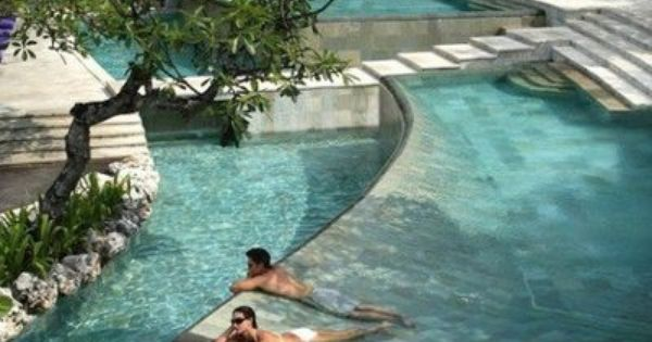 Swimming pool at Ayana Resort & Spa - Bali, Indonesia