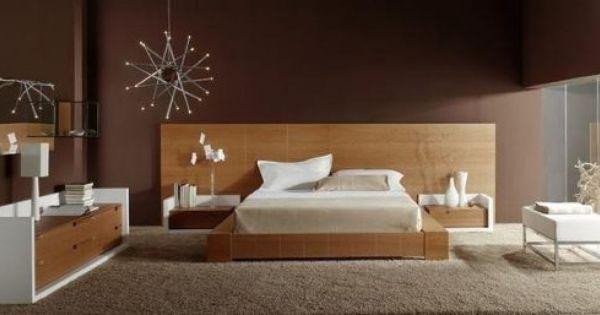 Juego De Dormitorio Moderno Minimalista 5 890 00 Dormitorios Decoracion Del Dormitorio Decoracion De Interiores