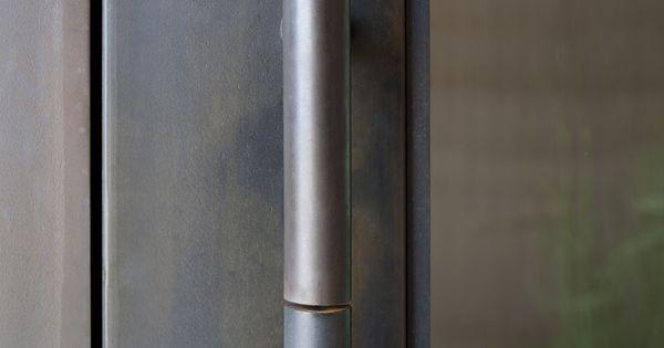 Custom Steel Lockset And Pull Dust In Collaboration
