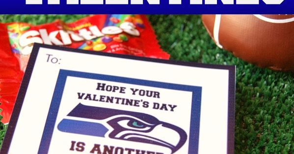 Michelle paige seattle seahawks football valentines for Valentines day ideas seattle