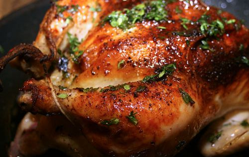 Maple Soy Roasted Chicken — wine friendly recipe