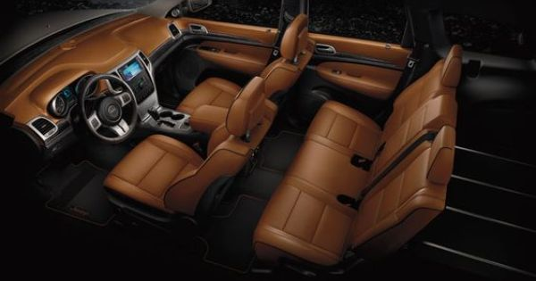 Jeep Grand Cherokee Summit With New Saddle Leather Trimmed