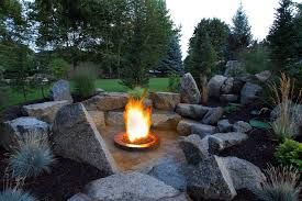 Image Result For Fire Pits Ideas With Boulder Seating Garden Fire Pit Backyard Fire Fire Pit Seating