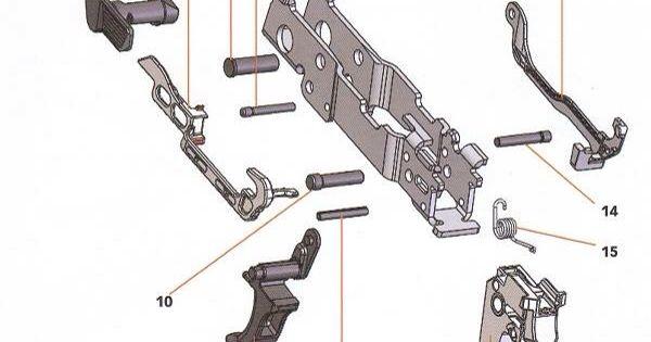 Sig Sauer P320 - Parts Diagram