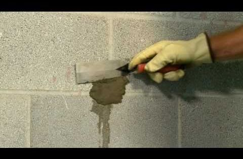 How To Stop Leaks In Concrete Walls Youtube Home