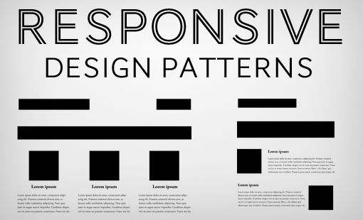 5 Really Useful Responsive Web Design Patterns Web Design Web Development Design Web Design Tips