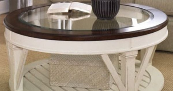 Round Coffee Table Country Cottage Contemporary Pine Wood Living Room Furniture Ebay Round