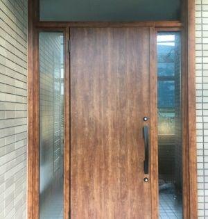 玄関ドアリフォームを兵庫で行うきたむらのビフォーアフター 画像あり 玄関ドア 玄関 ドア