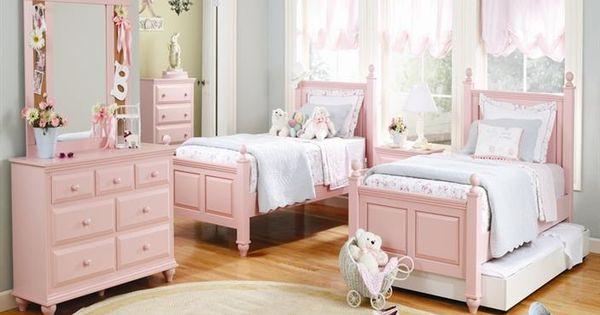 Girls bedroom ideas go girlie habitaciones de ni os - Habitaciones ninos pequenas ...