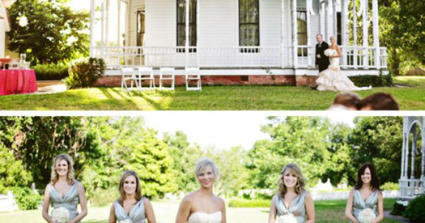 Beautiful mansion wedding! And I am so in love with the bride's