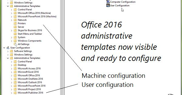 Office Group Policy Templates GUIDE How To Install Office 2016 Group Policy Templates