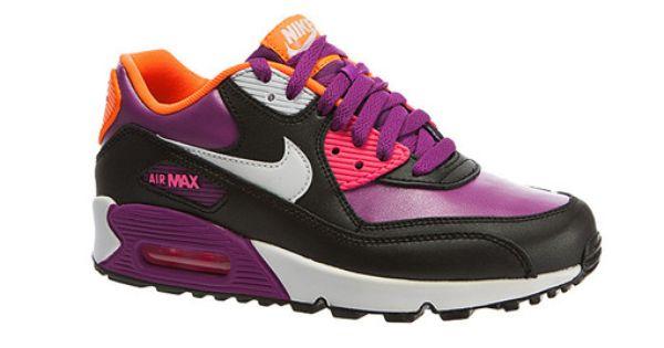 Buty Nike Air Max 90 2007 Gs Bold Berry Nike Air Max Nike Air Max 90 Nike Air