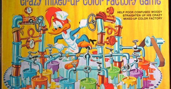 """Whitman """"Woody Woodpecker"""" Woody's Crazy Mixed-Up Color ..."""