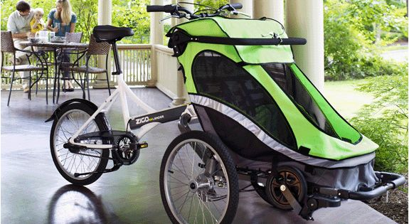 Zigo Leader X2 Carrier Bicycle Bicycling Cerebral Palsy