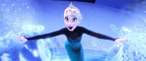 Elsa veja um incrível cosplay