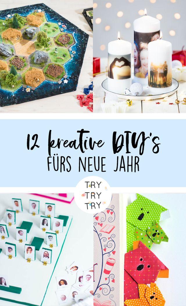 12 DIY's, um kreativ ins neue Jahr starten
