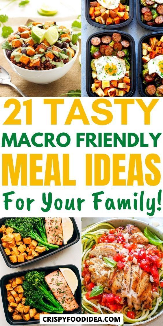 Macro-friendly Meal Prep Recipes