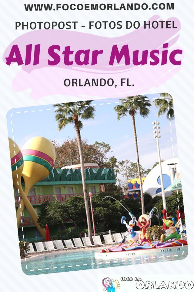 Fotos do Disney's All-Star Music, em Orlando