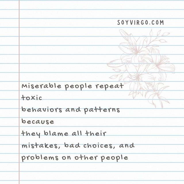 miserable toxic people quotes || soyvirgo.com toxic traits to get rid of in 2020