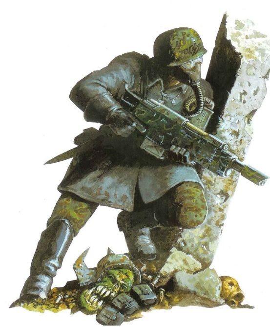 METAL OOP 40K NEW ARMAGEDDON STEEL LEGION SQUAD IMPERIAL GUARD