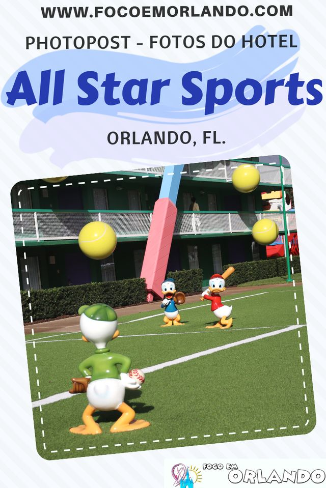 Photopost - fotos do hotel Disney's All-Star Sports em Orlando