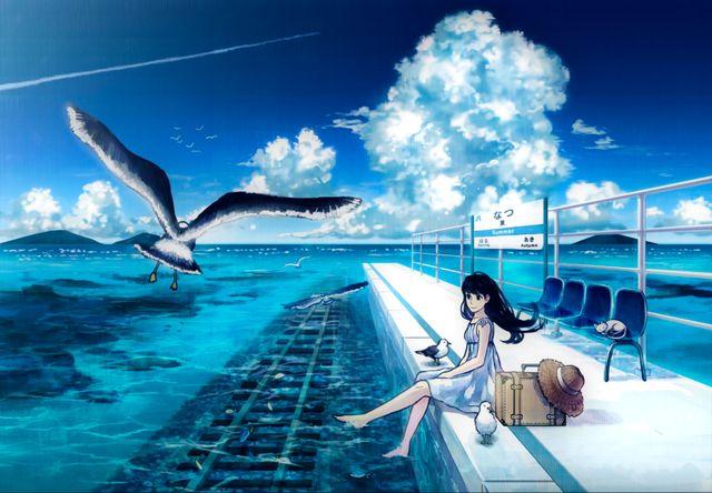 500 件 ノスタルジー 綺麗な壁紙 おすすめの画像 アニメの風景 幻想的なイラスト イラスト