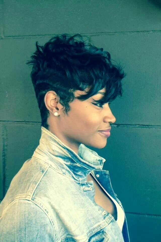 Surprising 1000 Images About Hairstyles For Short Hair On Pinterest Short Hairstyles For Black Women Fulllsitofus