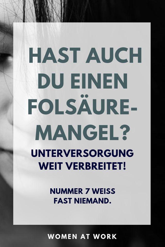 Experten schätzen, dass bis zu 90 Prozent aller Deutschen einen Mangel an Folsäure haben. Oftmals ohne es zu wissen. Aber mit erheblichen Risiken für die Gesundheit. Denn ein Mangel kann zu Arteriosklerose und Herzinfarkt führen. Wie es zum Mangel kommt und was du dagegen tun kannst- hier im Schnell-Check