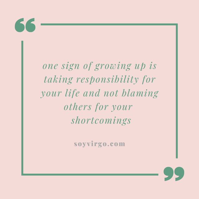 blaming others quotes || soyvirgo.com - toxic traits to get rid of in 2020 toxic behavior quotes and advice