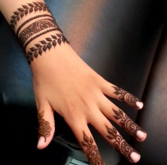 Henna Wrist Bracelet: Henna -- New Designs And Trends Followed In Wedding