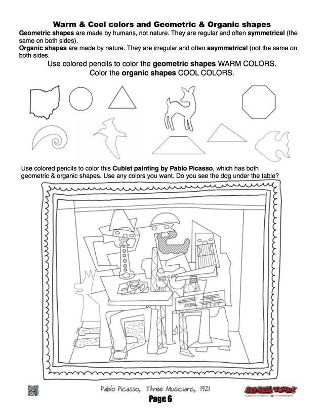 art printables handouts on pinterest elements of art worksheets and coloring pages. Black Bedroom Furniture Sets. Home Design Ideas