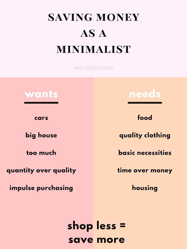 How to save $10k with Law of Attraction (Be a Minimalist) | soyvirgo.com