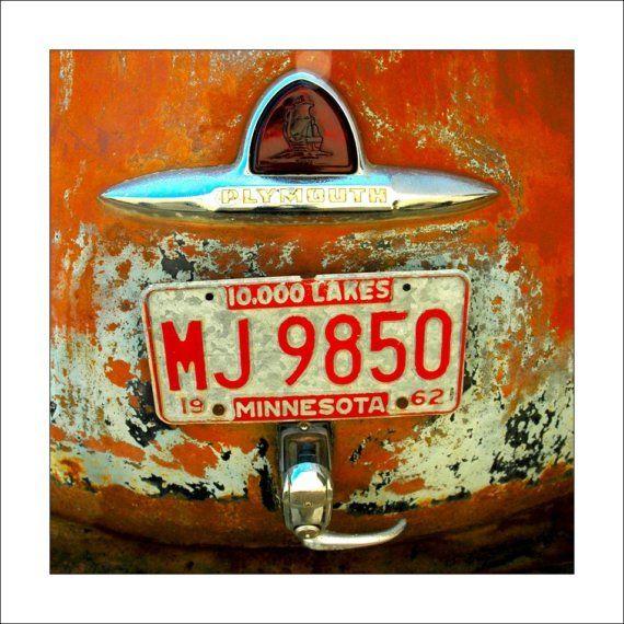 1960/'S VINTAGE MINI USA ARIS LICENSE PLATE NAME TAG SIGN BICYCLE VANITY