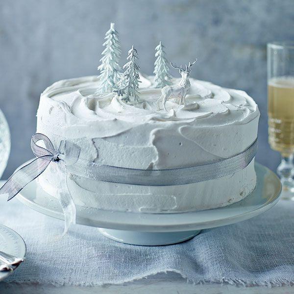 40+ Christmas ideas | christmas cake decorations, xmas cake, christmas food