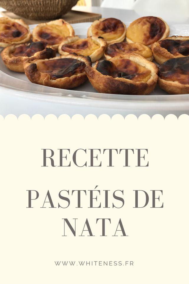 RECETTE - PASTÉIS DE NATA 🇵🇹