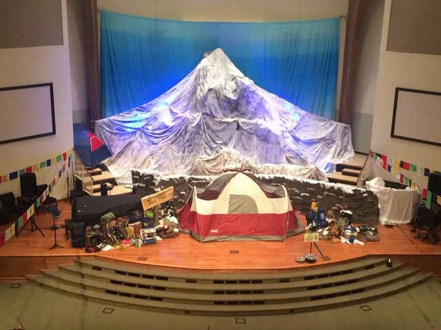 Decorating Ideas For Mt Everest Vbs