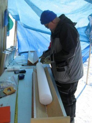 Detailed ice core measurements show smog-related ratios leveling off in 1970, and suggest these deposits are sensitive to the same chemicals that cause acid rain. By analyzing samples from the Greenland ice sheet, atmospheric scientists found clear evidence of the U.S. Clean Air Act. They also discovered a link between air acidity and how nitrogen is preserved in layers of snow. http://www.sciencedaily.com/releases/2014/04/140411091840.htm
