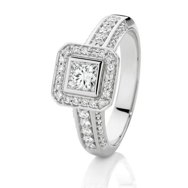 1.10ct of Diamonds Je t'aime SJ0023